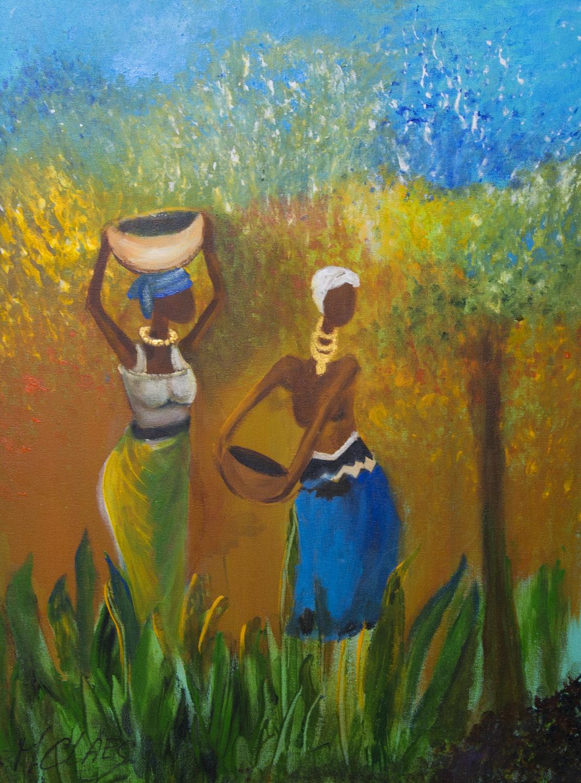 Site Des Artistes Peintres ethnique – maguy claes – artiste peintre